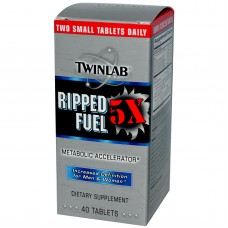 Twinlab Ripped Fuel  5x   40 tableta