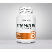 BioTech Usa Vitamin D3  60 kapsula