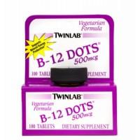 Twinlab  B- 12 dots  100 pastila